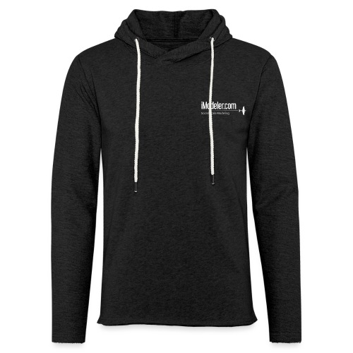 logo_claim_spit - Light Unisex Sweatshirt Hoodie