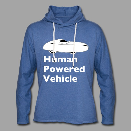 Quest Human Powered Vehicle 2 white - Kevyt unisex-huppari