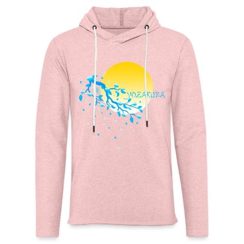 Cherry Blossom Festval Full Moon 2 - Leichtes Kapuzensweatshirt Unisex