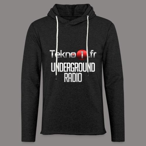 logo tekno1 2000x2000 - Sweat-shirt à capuche léger unisexe