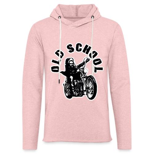 Old School - Sudadera ligera unisex con capucha