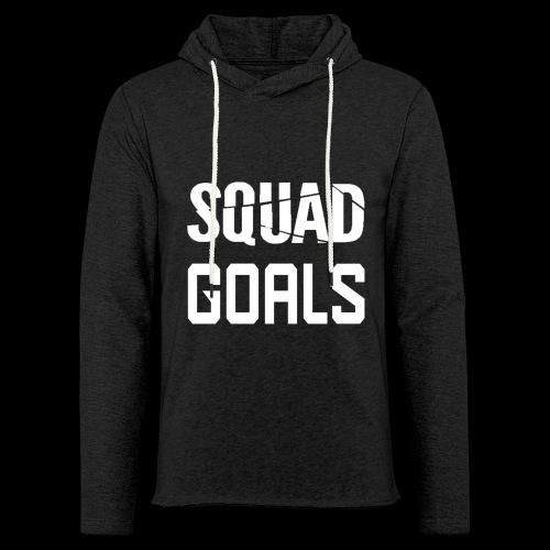 squad goals - Lichte hoodie unisex