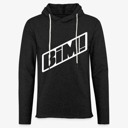 BIM! White - Sweat-shirt à capuche léger unisexe