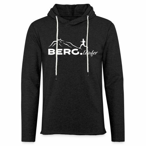 BERG.läufer - Leichtes Kapuzensweatshirt Unisex