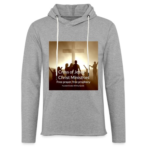 Cross of Jesus Christ - Light Unisex Sweatshirt Hoodie