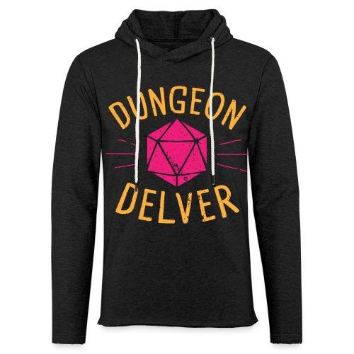 Dungeon Delver yellow pink - Light Unisex Sweatshirt Hoodie