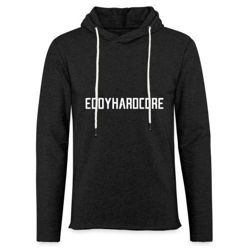 EddyHardcore logo nek transparant png - Lichte hoodie unisex
