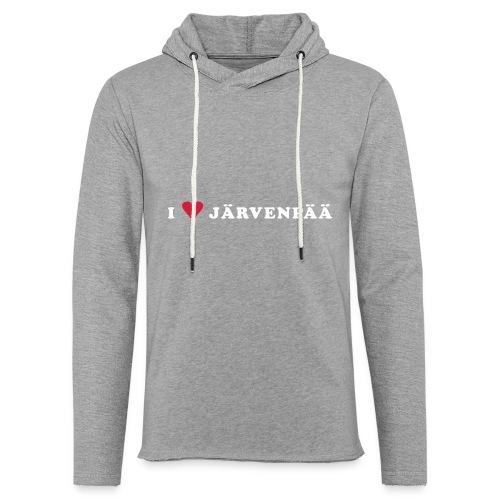 I LOVE JARVENPAA - Kevyt unisex-huppari