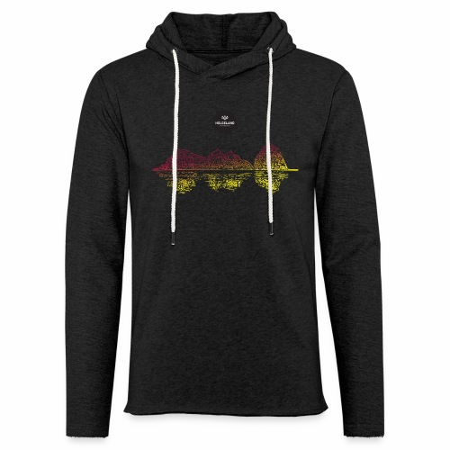 Trænstaven - Lett unisex hette-sweatshirt