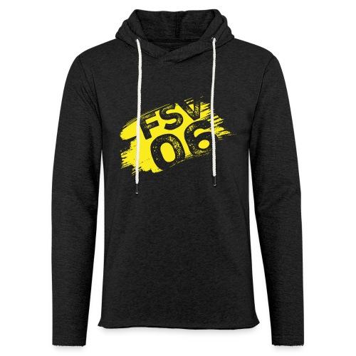 Hildburghausen FSV 06 Graffiti gelb - Leichtes Kapuzensweatshirt Unisex