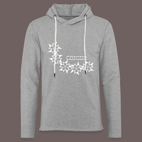 GBIGBO zjebeezjeboo - Rock - Pointy Stars - Sweat-shirt à capuche léger unisexe