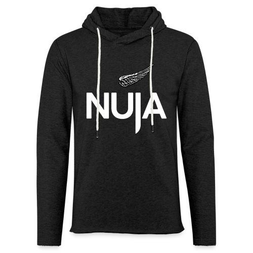 NUJA Premium Merch - Lett unisex hette-sweatshirt