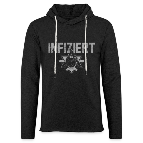 Infiziert2019 - Leichtes Kapuzensweatshirt Unisex