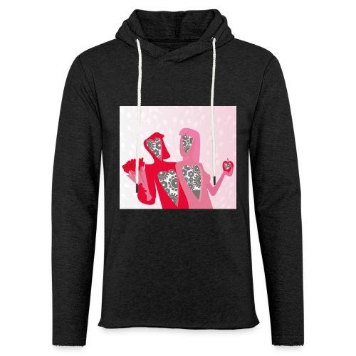 Valentine - Lichte hoodie unisex