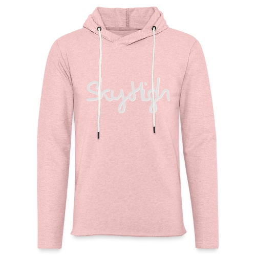 SkyHigh - Women's Premium T-Shirt - Gray Lettering - Light Unisex Sweatshirt Hoodie