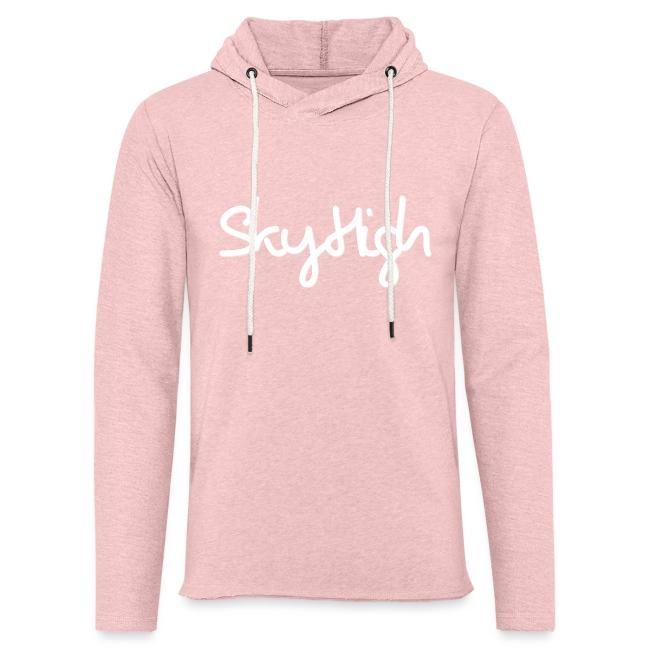 SkyHigh - Women's Hoodie - White Lettering