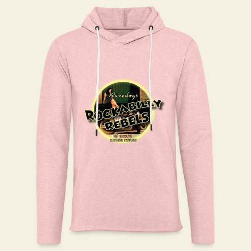 rockabilly rebels pinup - Let sweatshirt med hætte, unisex