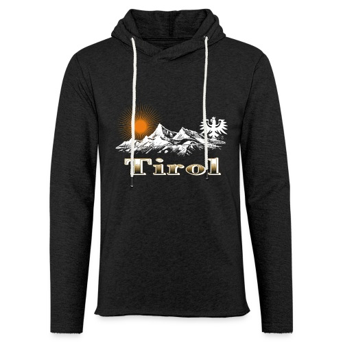 Tiroler Berge - Leichtes Kapuzensweatshirt Unisex