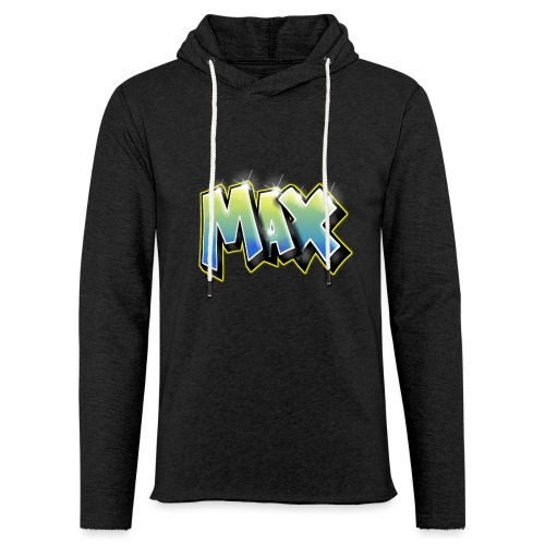 Graffiti Max - Sweat-shirt à capuche léger unisexe