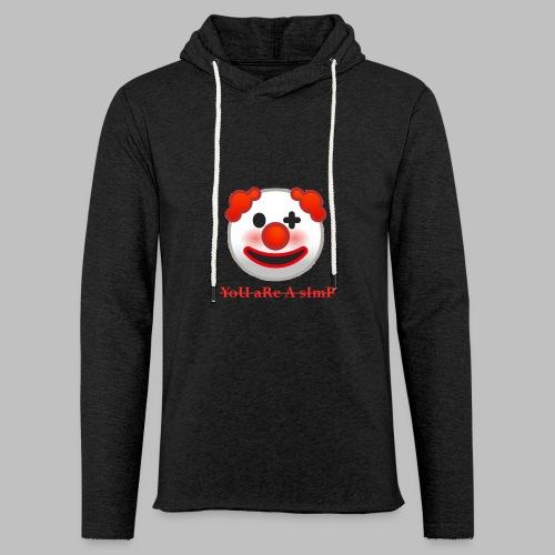 Clown Emoji - Lichte hoodie unisex