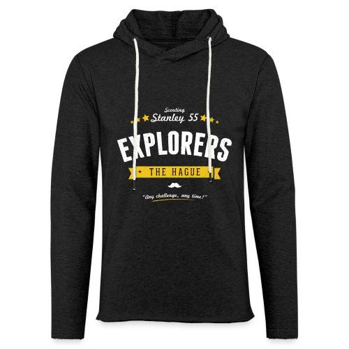 Explorershirt - Lichte hoodie unisex