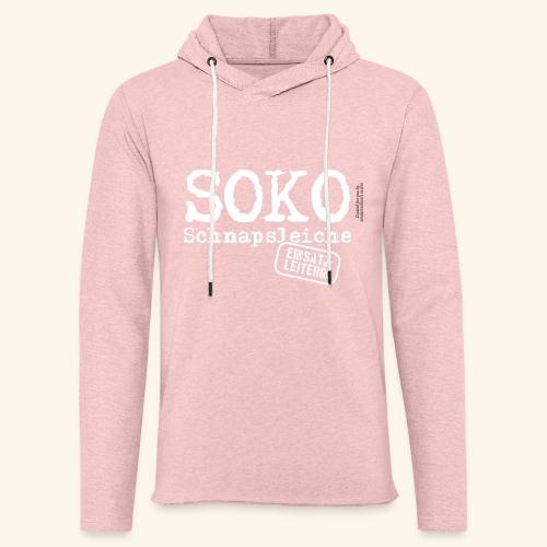 Sauf T Shirt SOKO Schnapsleiche - Leichtes Kapuzensweatshirt Unisex