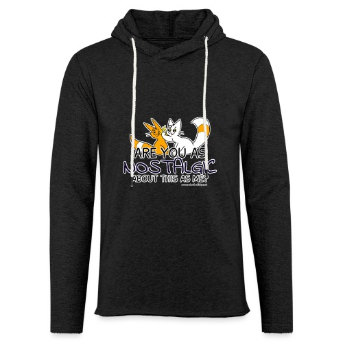 Nostalgia Hurts - Light Unisex Sweatshirt Hoodie