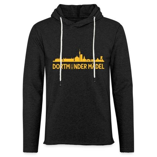 Dortmunder Mädel Skyline - Leichtes Kapuzensweatshirt Unisex