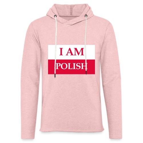 I am polish - Lekka bluza z kapturem