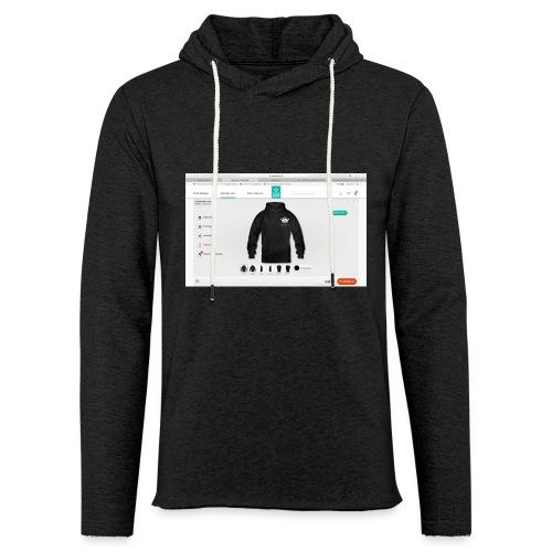 Sk--rmbillede_2016-11-07_kl-_13-03-34 - Let sweatshirt med hætte, unisex