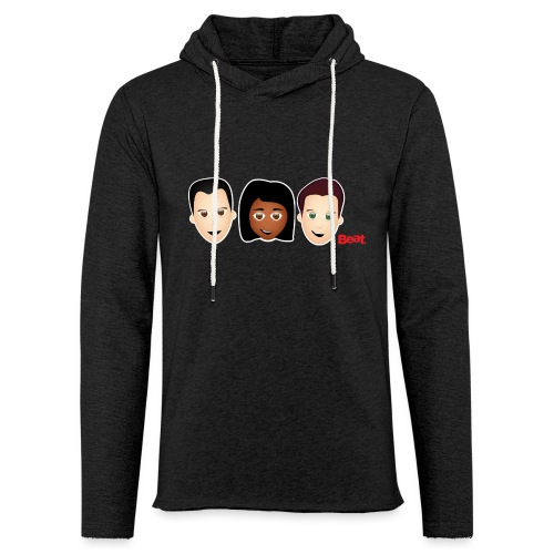 Beat Breakfast Travel Mug - Light Unisex Sweatshirt Hoodie