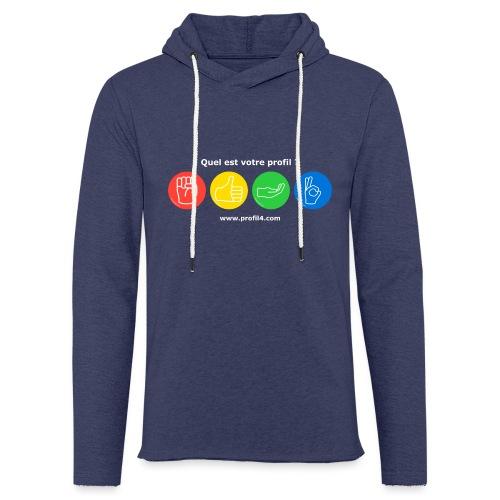 Quel est votre profil DISC ? - Sweat-shirt à capuche léger unisexe
