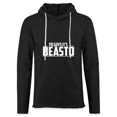 'Yo Guys It's Beasto' Clothing - Light Unisex Sweatshirt Hoodie