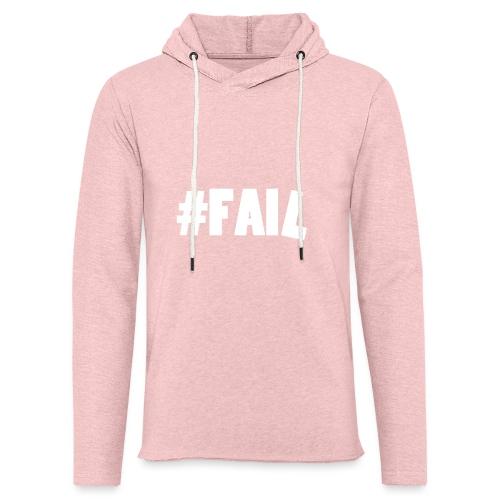 FAIL / White - Sweat-shirt à capuche léger unisexe