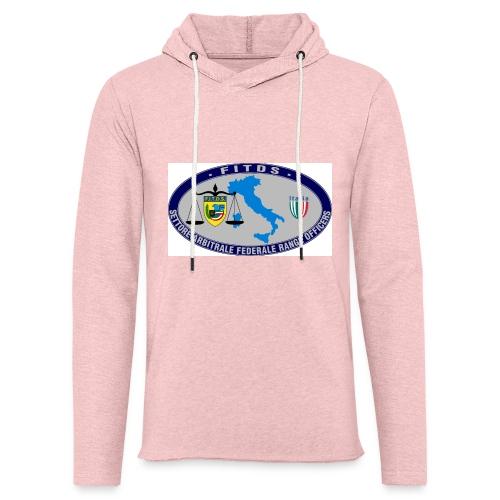 Logo SAFRO - Felpa con cappuccio leggera unisex