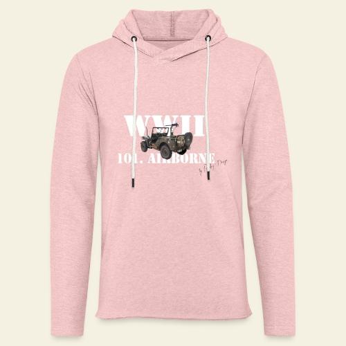 101 airborne png - Let sweatshirt med hætte, unisex