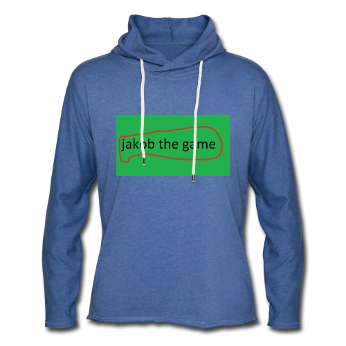 jakob the game - Let sweatshirt med hætte, unisex