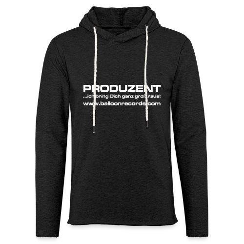Produzent - Leichtes Kapuzensweatshirt Unisex