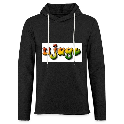 ujago farbig - Leichtes Kapuzensweatshirt Unisex