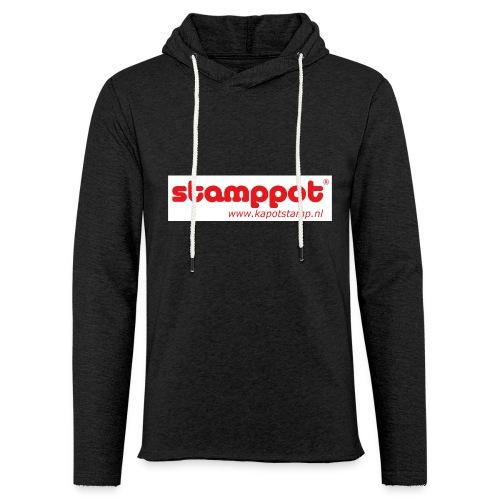 STAMPPOT white background - Lichte hoodie unisex