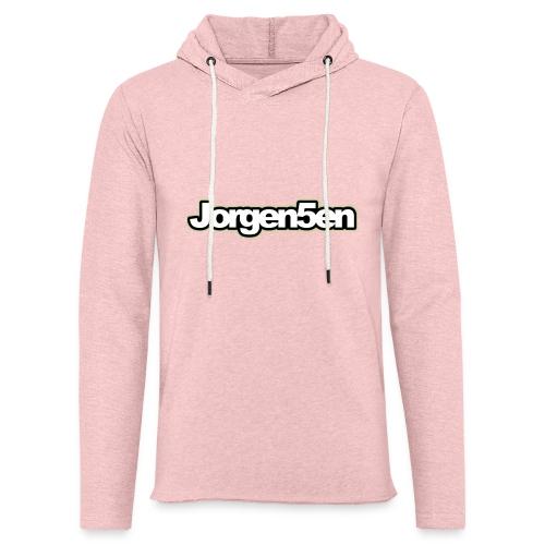 tshirt - Let sweatshirt med hætte, unisex