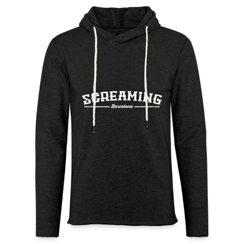SCREAMING - Sudadera ligera unisex con capucha