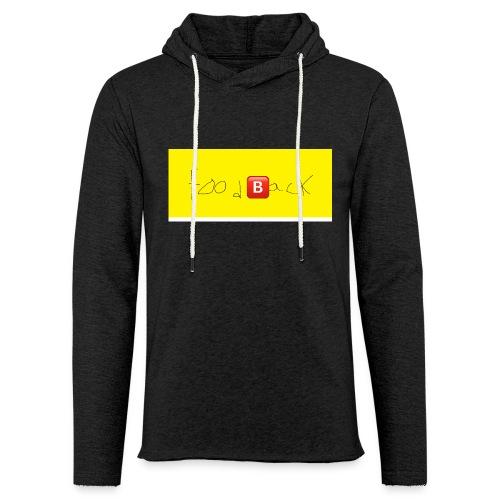 FOODBACK - Let sweatshirt med hætte, unisex