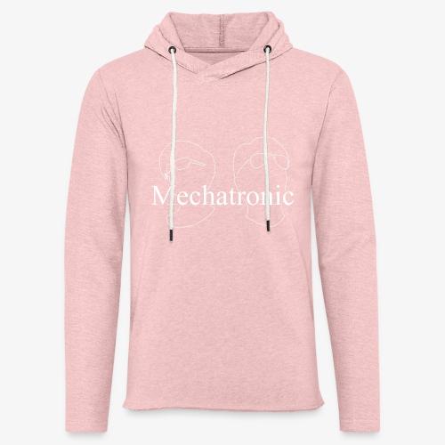 Mechatronic Logo - Lätt luvtröja unisex