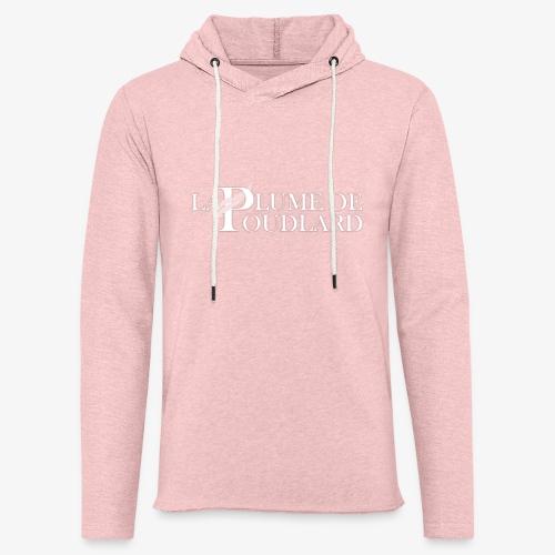 Logo large de La Plume de Poudlard - Sweat-shirt à capuche léger unisexe