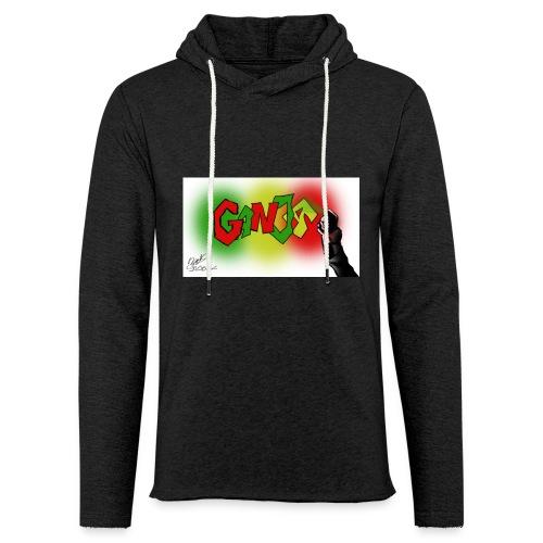 Ganja - Let sweatshirt med hætte, unisex