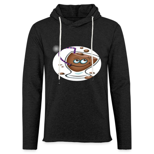 chocolate - Let sweatshirt med hætte, unisex