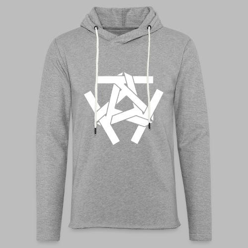 KKK-Logo-vektor - Leichtes Kapuzensweatshirt Unisex