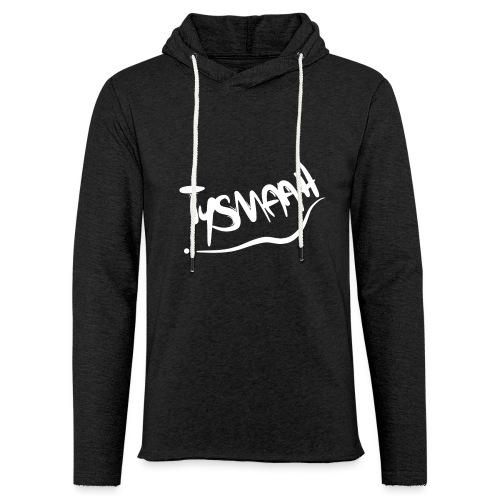 Logo blanc - TYSMAAH - Sweat-shirt à capuche léger unisexe