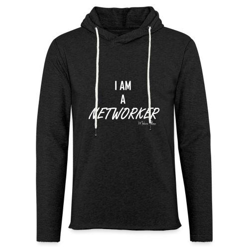 I AM A NETWORKER - Sweat-shirt à capuche léger unisexe